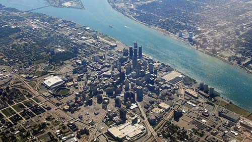 Web Design Detroit Michigan - downtown