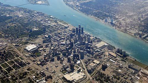 Web Design Detroit Michigan - downtown